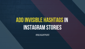Add Hashtags in Instagram Stories (Invisible) and Boost Story Views!