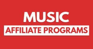 music affiliate program